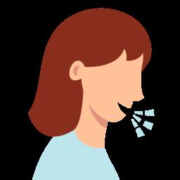 5925233 – corona virus coronavirus cough coughing covid19 symptom
