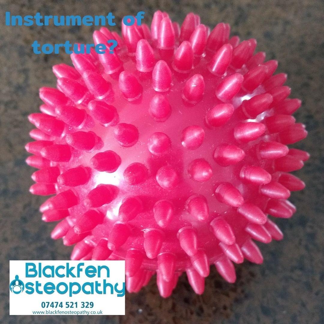 osteopathic gift spikey massage balls