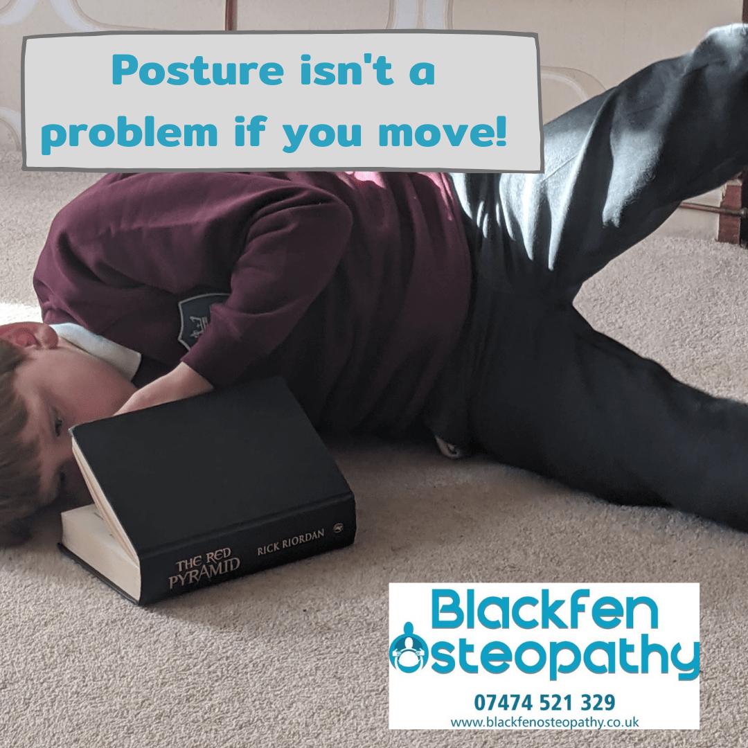 Posture isnt a problem
